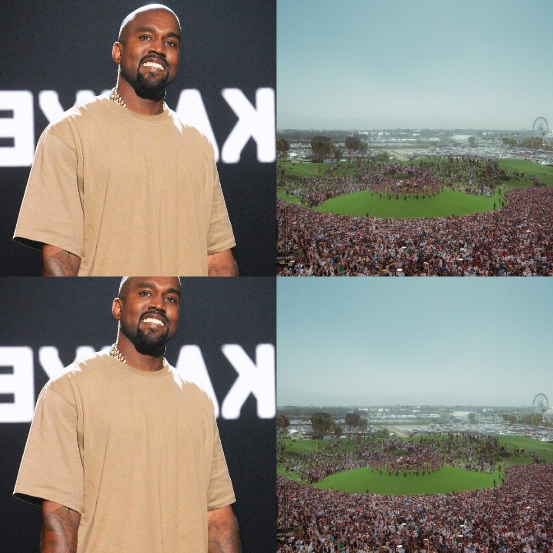 #COACHELLA: 50,000 People Attend Kanye West's Sunday Service - VIDEO