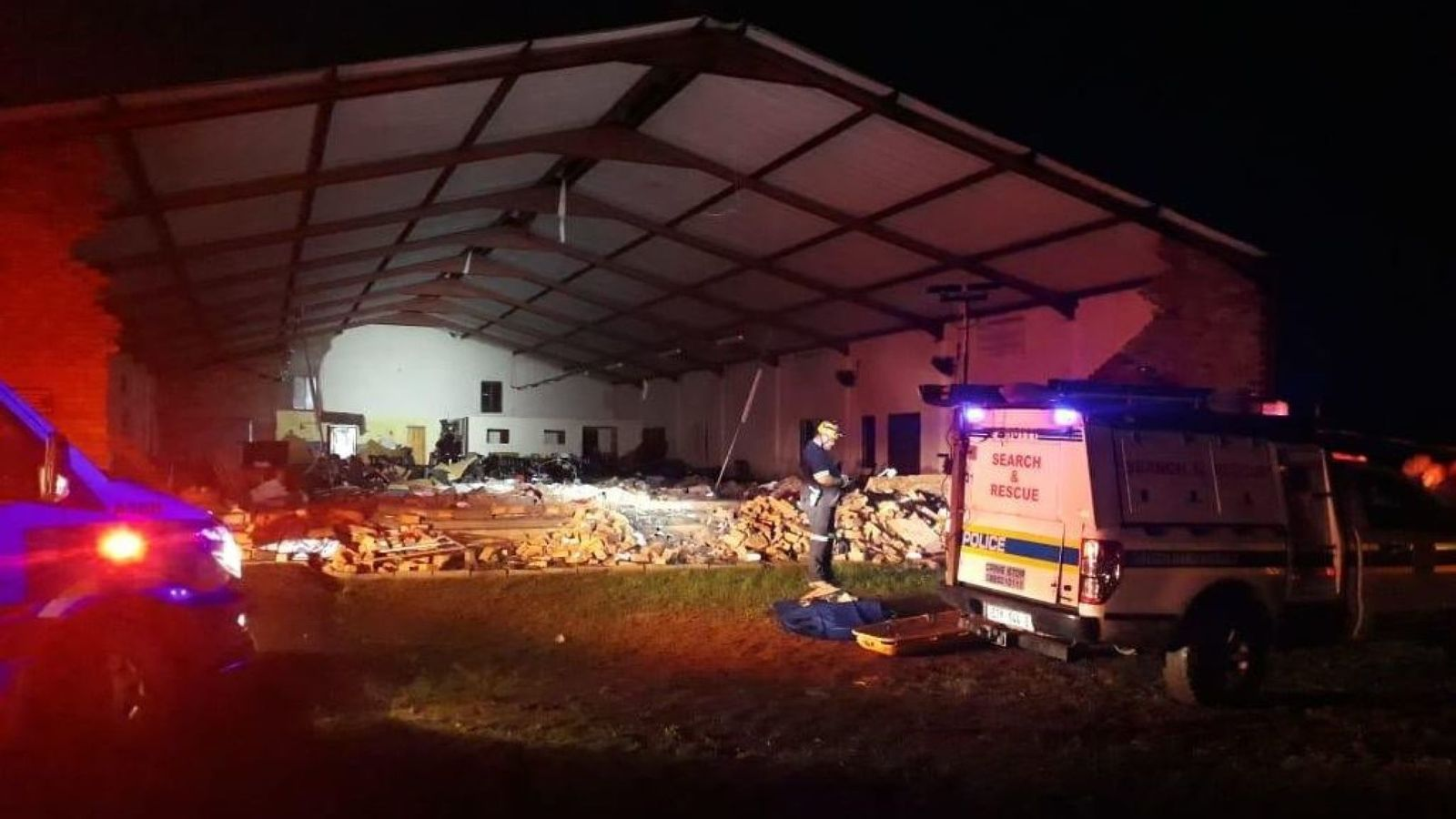 KZN CHURCH COLLAPSES: 13 Dead After Collapse At South Africa Church During Easter Service