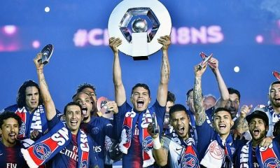 FRESH: Paris Saint-Germain (PSG) Crowned Ligue 1 Champions