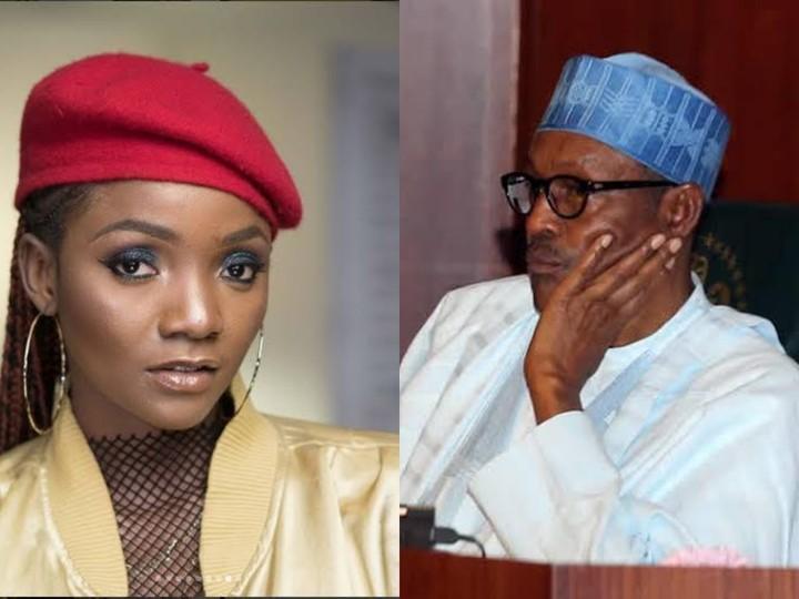 Covid-19: Singer Simi Asks President Buhari A Major Question