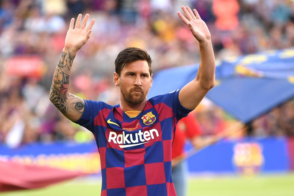 What Lionel Messi Did To Health Workers Fighting Covid-19 Pandemic