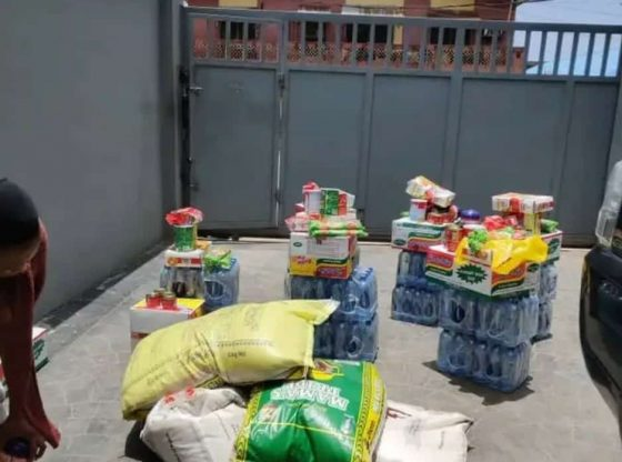 Covid19 Lockdown: Landlord Surprises Tenants With Free Food Items [PHOTO]