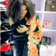 How Bobrisky Grabs His 'Padded Chest' As They Almost Fall Off [VIDEO]