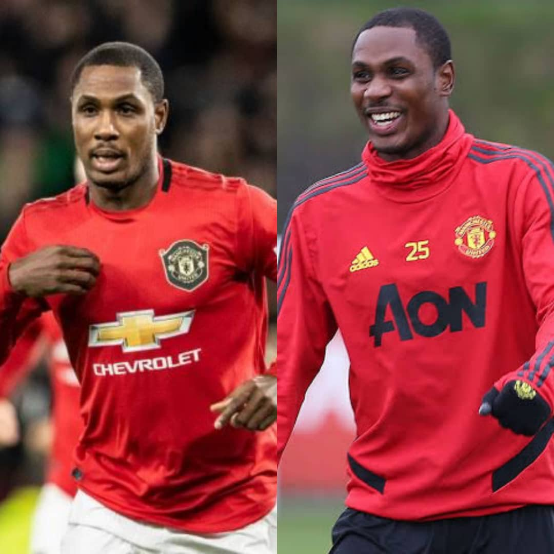 How Odion Ighalo Reacted At His Permanent Stay With Man United