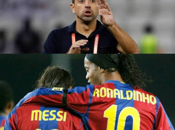 XAVI: Only Lionel Messi Is Greater Than Brazil legend Ronaldinho""