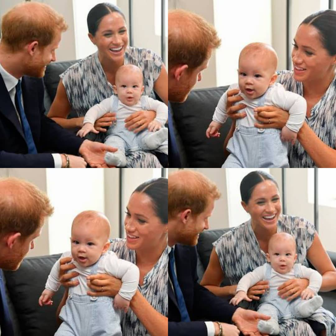 FRESH: Prince Harry And Meghan Markle Name New Org. After Son Archie
