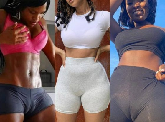 18+ PHOTOS: Ladies Scatter The Internet With Camel Toe Challenge