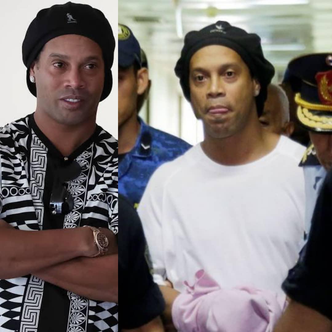 Finally, Barcelona Legend Ronaldinho Released From Paraguay Jail