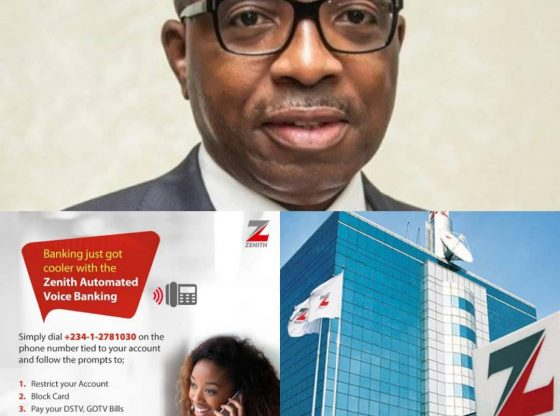 BREAKING: Zenith Bank Introduces Automated Voice Banking Service