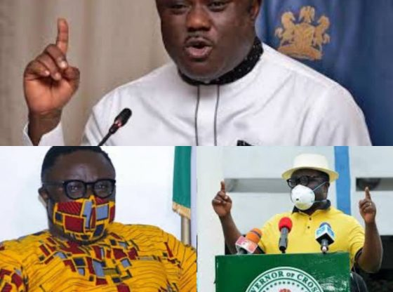 """VIDEO: """"You Don't Need Social Distancing When You Put On Covid-19 Protective Mask"""" - Gov. Ayade"""