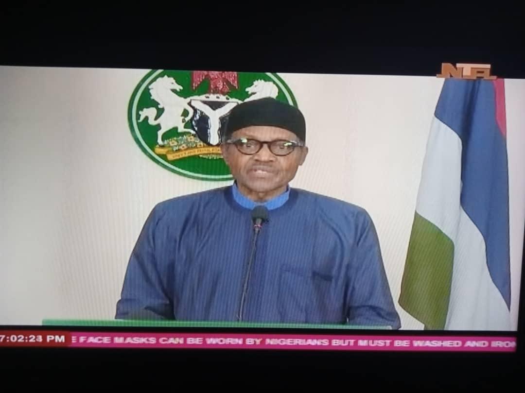 BREAKING: President Buhari Extends Covid-19 Lockdown - [FULL SPEECH]