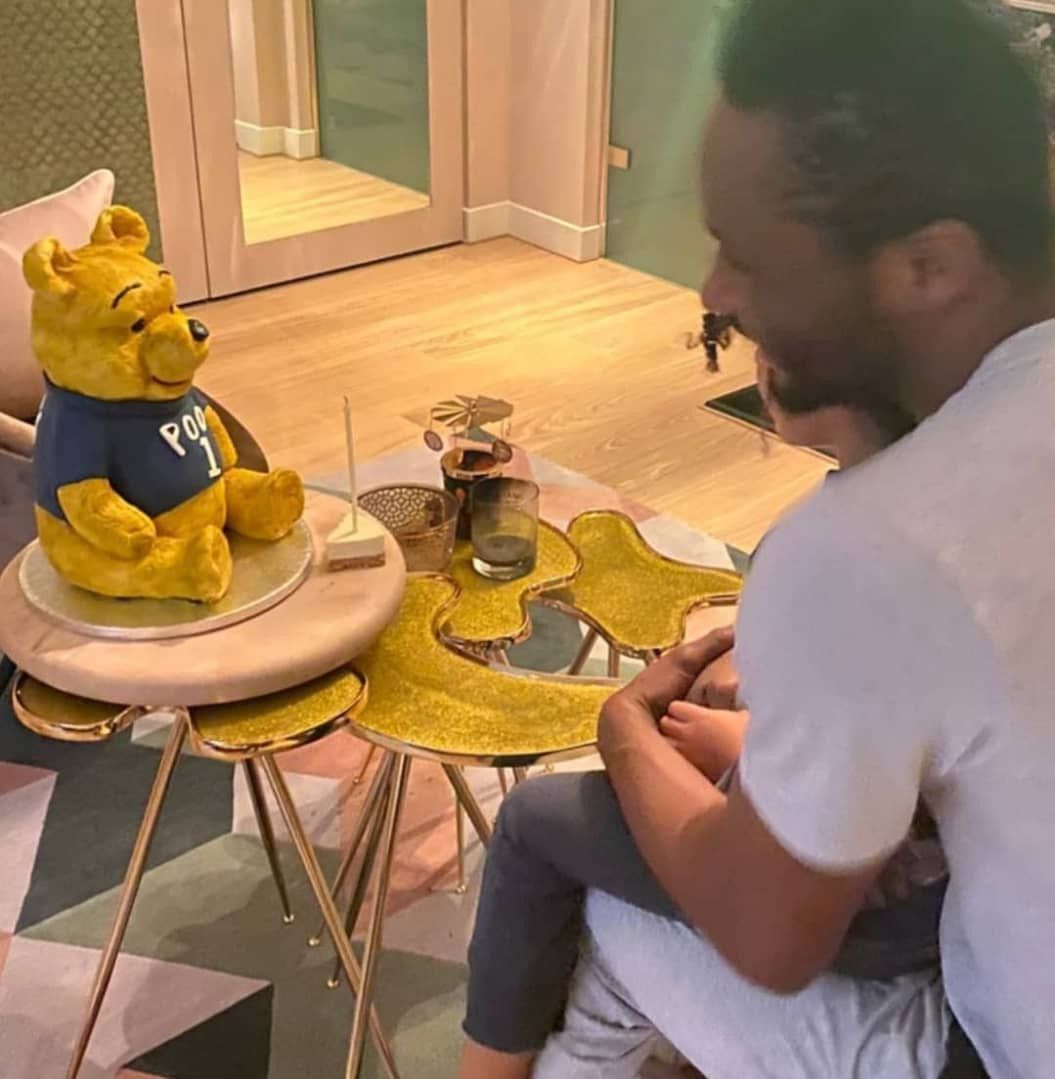 PHOTOS: Mikel Obi Celebrates His 33rd Birthday With His Partner And Twin Daughters