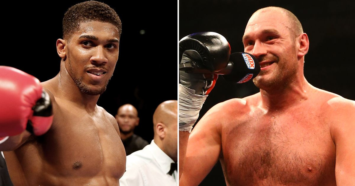 Anthony Joshua Vows To Fight Tyson Fury behind closed doors Amidst Covid-19