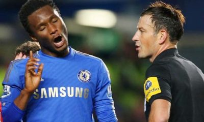 """Mikel Obi Is Among 5 Annoying Players"" - Ex-EPL Referee Mark Clattenburg"