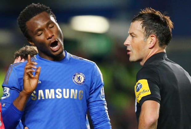 """""""Mikel Obi Is Among 5 Annoying Players"""" - Ex-EPL Referee Mark Clattenburg"""