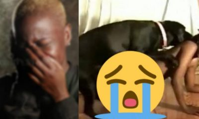 """SHOCKING!!! """"After Having S£X With Dog, Now Anytime I See A Dog I Get Wet"""" — Nigerian Lady"""