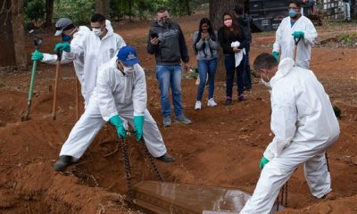 VIDEO: Brazil Records 1188 COVID-19 Deaths In 24-Hours, Increasing Rapidly