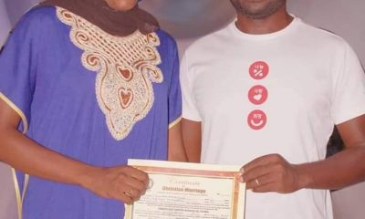 PHOTOS: Couple Wed In Casual Outfits In Gombe State