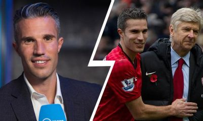 Former Arsenal Captain, Robin van Persie Snubs Wenger, Names Best Manager He Worked With