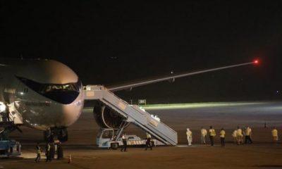 BREAKING: FG Receives Stranded Nigerians Evacuated From Saudi Arabia