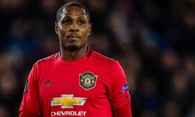 Odion Ighalo's Future At Man Utd Uncertain....Next Action Revealed