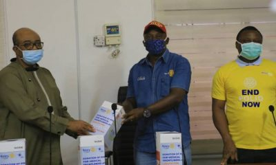 Rotary Club Of Gbagada Donates Personal Protective Equipment (PPE) To LASUTH