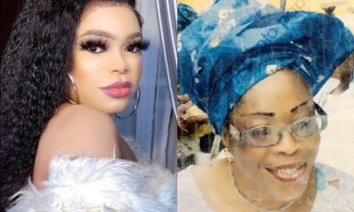 Popular Transgender, Bobrisky Releases Photo Of His Mum, Opens Up On How She Died