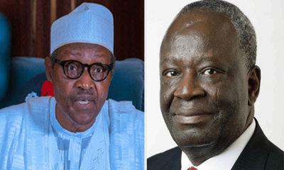 ITS OFFICIAL!!! Buhari Formally Appoints Prof. Gambari As New Chief Of Staff