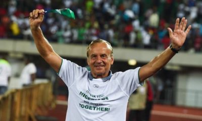 BREAKING: Football Federation Extends Rohr's Contract As Super Eagles Coach