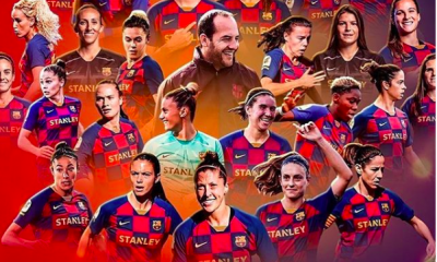 Super Falcons Captain, Oshoala Thrilled As Barcelona Ladies Are Crowned League Champions