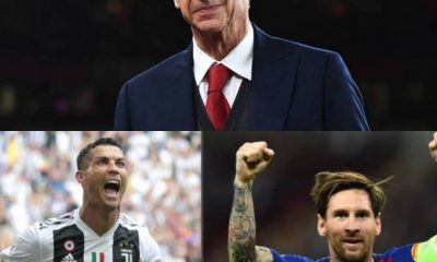 Arsene Wenger Reveals 2 Players To Take Over From CR7 And Messi