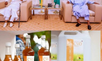 BREAKING: Guinea Bissau President Delivers Madagascan COVID-19 Herbal Drugs To Buhari....PMB Reveals Next Action