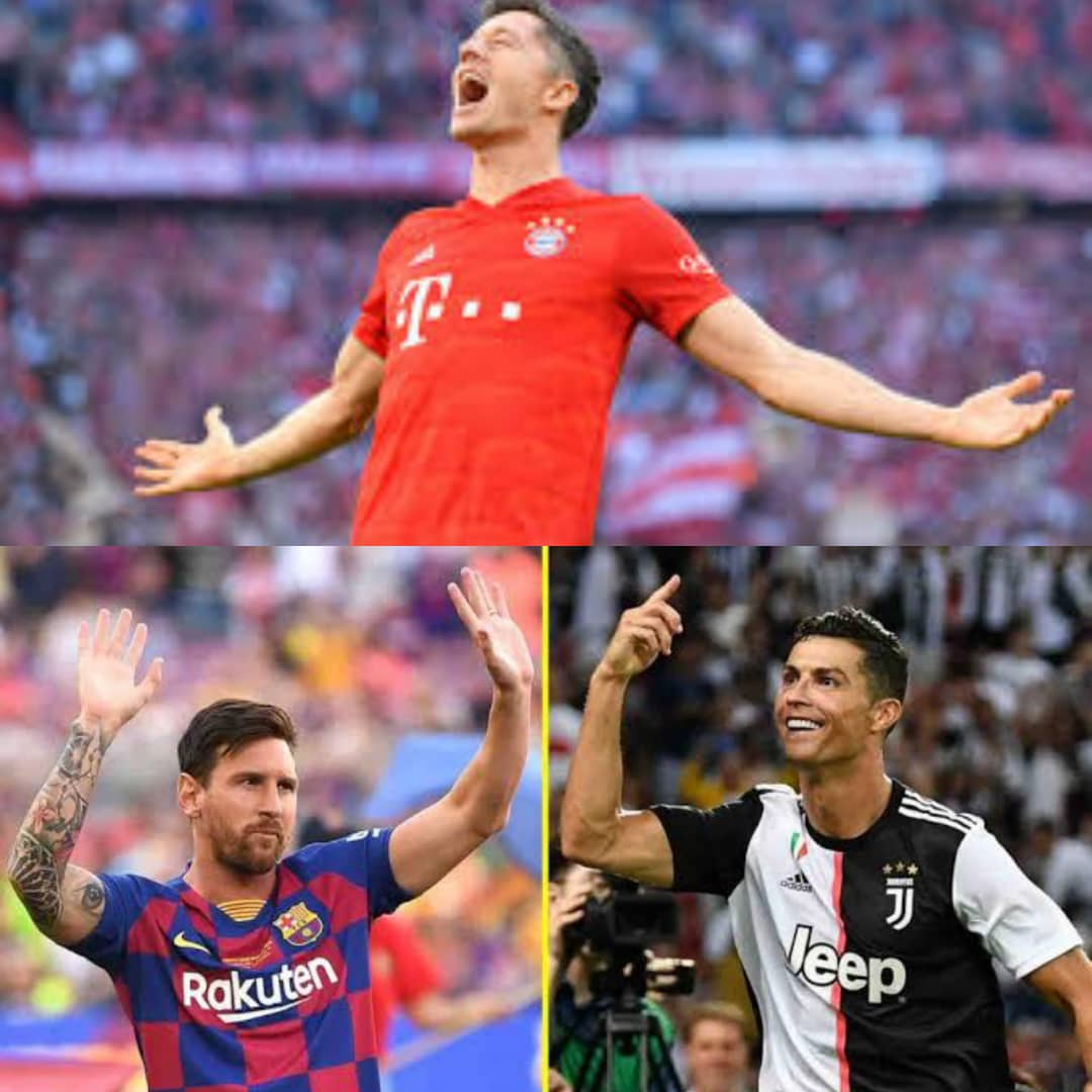 Striker Lewandowski Matches CR7, Messi's Records After Bayern Munich's Victory