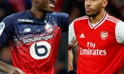 Super Eagles Striker, Osimhen To Replace Aubameyang At Arsenal
