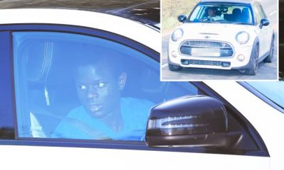 Checkout Photos Of N'Golo Kante New Mercedes After Driving Mini Cooper For 5 Years