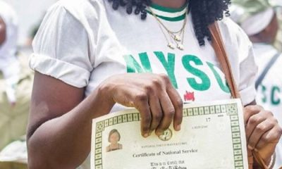 """BATCH """"B"""" STREAM 1 POP: Corps Members To Collect Certificates At LGAs"""