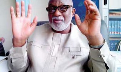 BREAKING: Ondo Gov, Rotimi #Akeredolu Tests Positive For #COVID-19 3 Weeks To Guber Primary