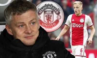 JUST IN: Ajax Confirm Man Utd Want To Sign Van De Beek