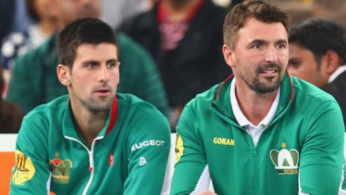 FRESH: Novak Djokovic's Coach, Goran Ivanisevic Tests Positive For COVID-19