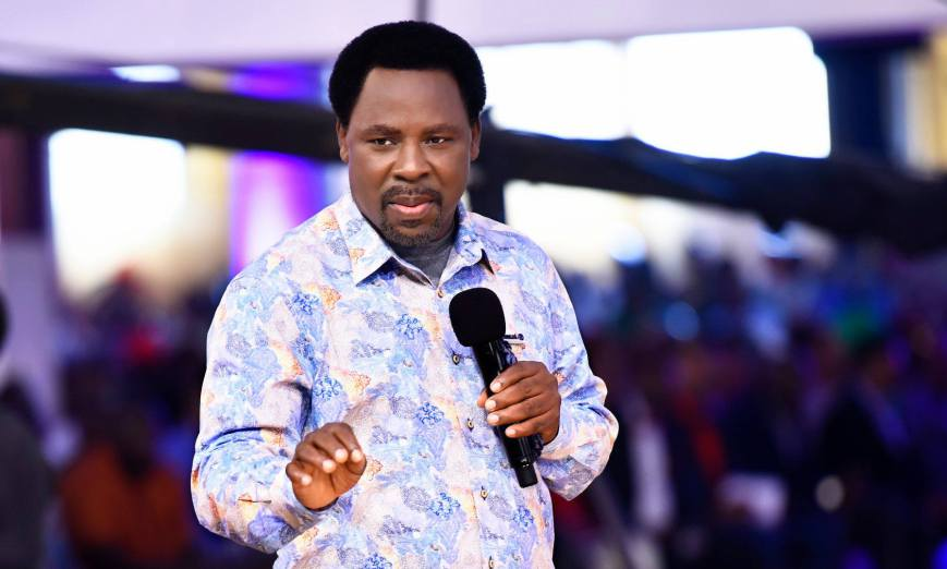 TB Joshua Heals Foreign Medical Doctor From #COVID-19