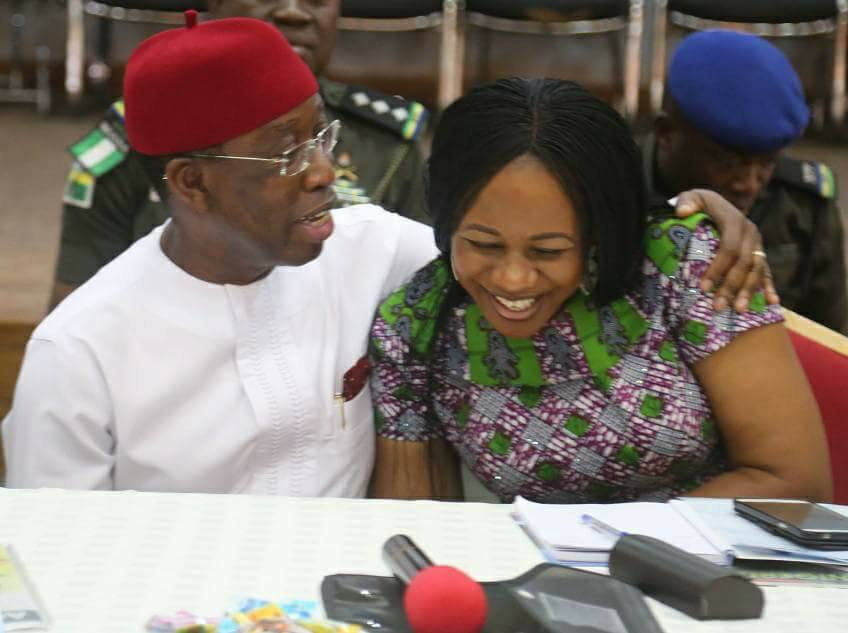 JUST IN: Governor Ifeanyi Okowa And Wife Embark On Self-Isolation After Daughter Tests Positive For #COVID-19