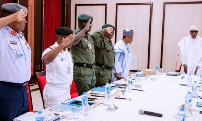 "PMB To SERVICE CHIEFS: ""Your Best Not Good Enough"""