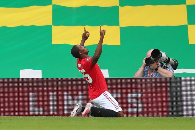 #NORMUN: Odion #Ighalo Scores As Man United Struggle Past Norwich - #EmiratesFACup