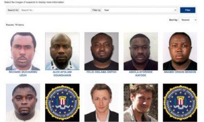 BREAKING: FBI List 6 Nigerians Among Most Wanted Cyber Criminals [FULL LIST/PHOTOS]