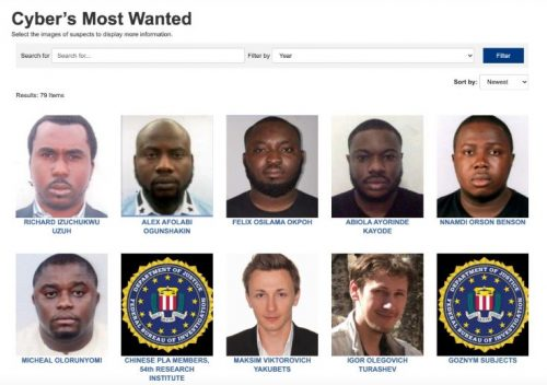 BREAKING: FBI List 6 Nigerians Among Most Wanted Cyber Criminals [FULL LIST/PHOTOS]