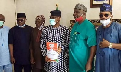 #Ondo2020: Jegede Storms Abuja With Former Deputy Governor, Rep Members, Others