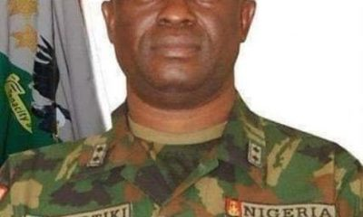 BREAKING: Court Martial Dismisses Nigerian Army General For Stealing, Disobedience