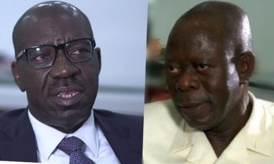 """How I Helped Adams Oshiomhole Become Edo Governor"" - Obaseki"