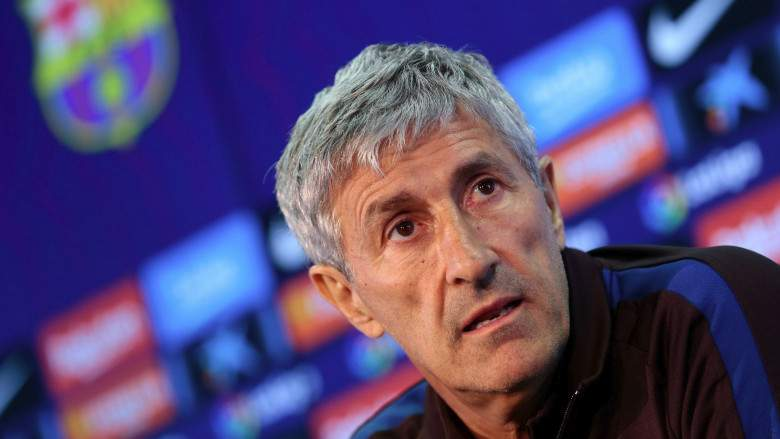 JUST IN: Barcelona To Sack Coach, Quique Setien If.......