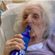 WAWU!!! 103-Year-Old Woman Cheat COVID-19, Celebrates With A Cold Beer